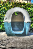 Dog house in hdr Royalty Free Stock Photo