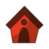 dog house isolated icon Stock Photo