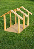 Dog House Wood Frame Royalty Free Stock Photo