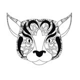 Dog icon. Animal and Ornamental predator design. Vector graphic Royalty Free Stock Photo