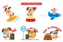 Dog icon. This is dog icon design Royalty Free Stock Photography