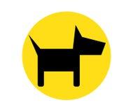 Dog Icon Design Royalty Free Stock Photography