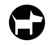Dog Icon Design Stock Images