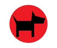 Dog Icon Design Stock Photography