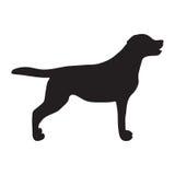 Dog Icon. Labrador Silhouette Royalty Free Stock Image