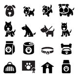 Dog icon. Vector illustration Graphic Design symbol Royalty Free Stock Images