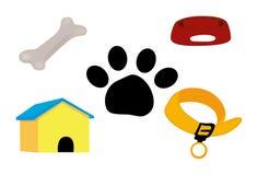 Dog Icons Stock Images