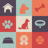 Dog Icons Pack Stock Photos