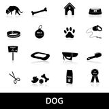 Dog icons set eps10 Royalty Free Stock Images