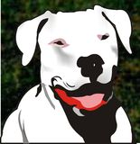 Dog illustration Royalty Free Stock Photography