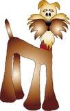 Dog illustration Stock Image