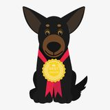 Dog  illustration Royalty Free Stock Photo