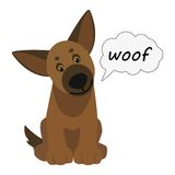 Dog  illustration Stock Photos