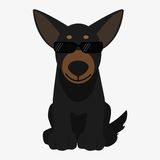 Dog  illustration Royalty Free Stock Photography