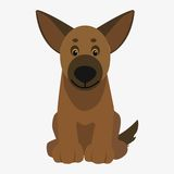 Dog  illustration Royalty Free Stock Images