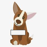 Dog  illustration Stock Photography