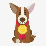 Dog  illustration Stock Photo