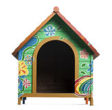 Dog kennel, isolated Stock Photography