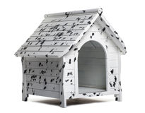 Dog kennel, isolated Royalty Free Stock Images