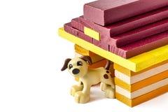 Dog kennel Stock Image