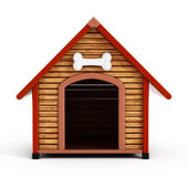 Dog kennel Royalty Free Stock Photos