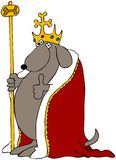 Dog King Stock Images