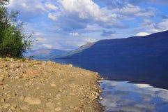 Dog lake, Putorana plateau. Stock Photo