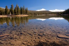 Dog Lake in Yosemite National Park Royalty Free Stock Photos