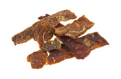 Dog Lamb Jerky Strips Stock Image