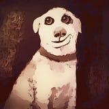 Dog Like Mammal, Mammal, Art, Dog stock photos
