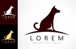 Dog logo vector. Dog logo design vector illustration. Logo design vector illustration vector illustration