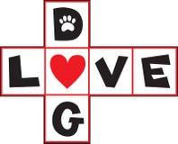Dog Love Stock Image