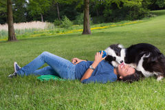 Dog love Royalty Free Stock Photo