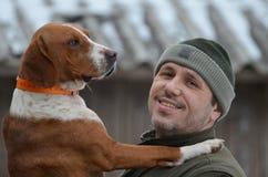 Dog loyalty Royalty Free Stock Photos