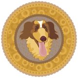 Dog Medallion Royalty Free Stock Image