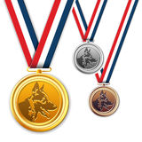 Dog medals, award, medallion. Royalty Free Stock Images