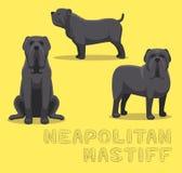 Dog Neapolitan Mastiff Cartoon Vector Illustration Stock Photo