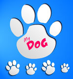 Dog pads Stock Photo