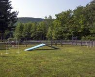 Dog Park Stock Photo