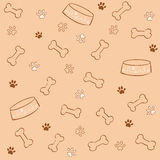 Dog pattern Royalty Free Stock Photography