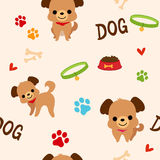 Dog pattern Stock Photo