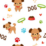 Dog pattern Royalty Free Stock Image