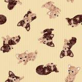 Dog pattern Royalty Free Stock Photography