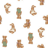Dog pattern Stock Image