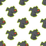 Dog pattern seamless, animal pet isolated on a white background Royalty Free Stock Images