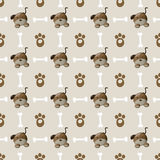 Dog pattern. Royalty Free Stock Photos
