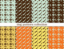 Dog pattern seamless Royalty Free Stock Photos