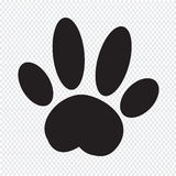 Dog paw Icon Royalty Free Stock Images