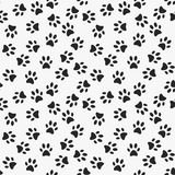 d8fa080c023d Dog paw print vector seamless pattern. Or texture stock illustration