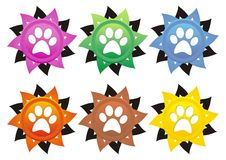 Dog paws Royalty Free Stock Photography